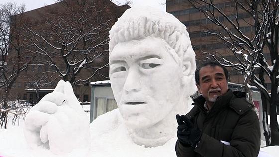 「五郎丸ポーズ」1位 市民雪像人気投票詳しくはこちら