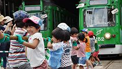 路面電車に親しむ 札幌でフェス