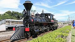 北海道第1号の蒸気機関車「義経」京都で現役<探る見る>