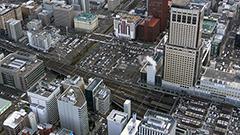 札幌駅東側ツインタワー構想 新幹線見据え高層ビル