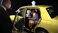 踏み切り消え 乗り合いタクシー運行始まる 増毛―留萌間
