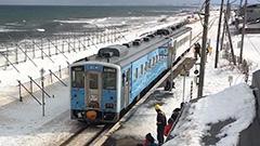 「流氷物語号」運行開始 JR釧網線の新たな季節列車