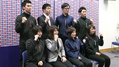 カーリング混合ダブルス 日本選手権に向けて参加選手が抱負