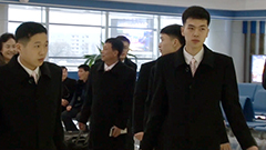 北朝鮮選手団が札幌へ向け出発 北京でビザ取得<冬季アジア大会>