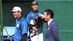 WBC小久保監督が中田など視察<日本ハム名護キャンプ>